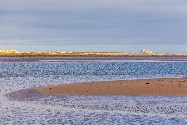 Budle Bay, Lindisfarne Castle