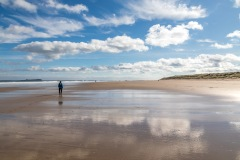 Budle Bay to Seahouses walk