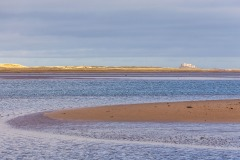 Budle Bay, Lindisfarne Castle