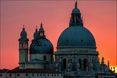 Salute, Venice, sunset