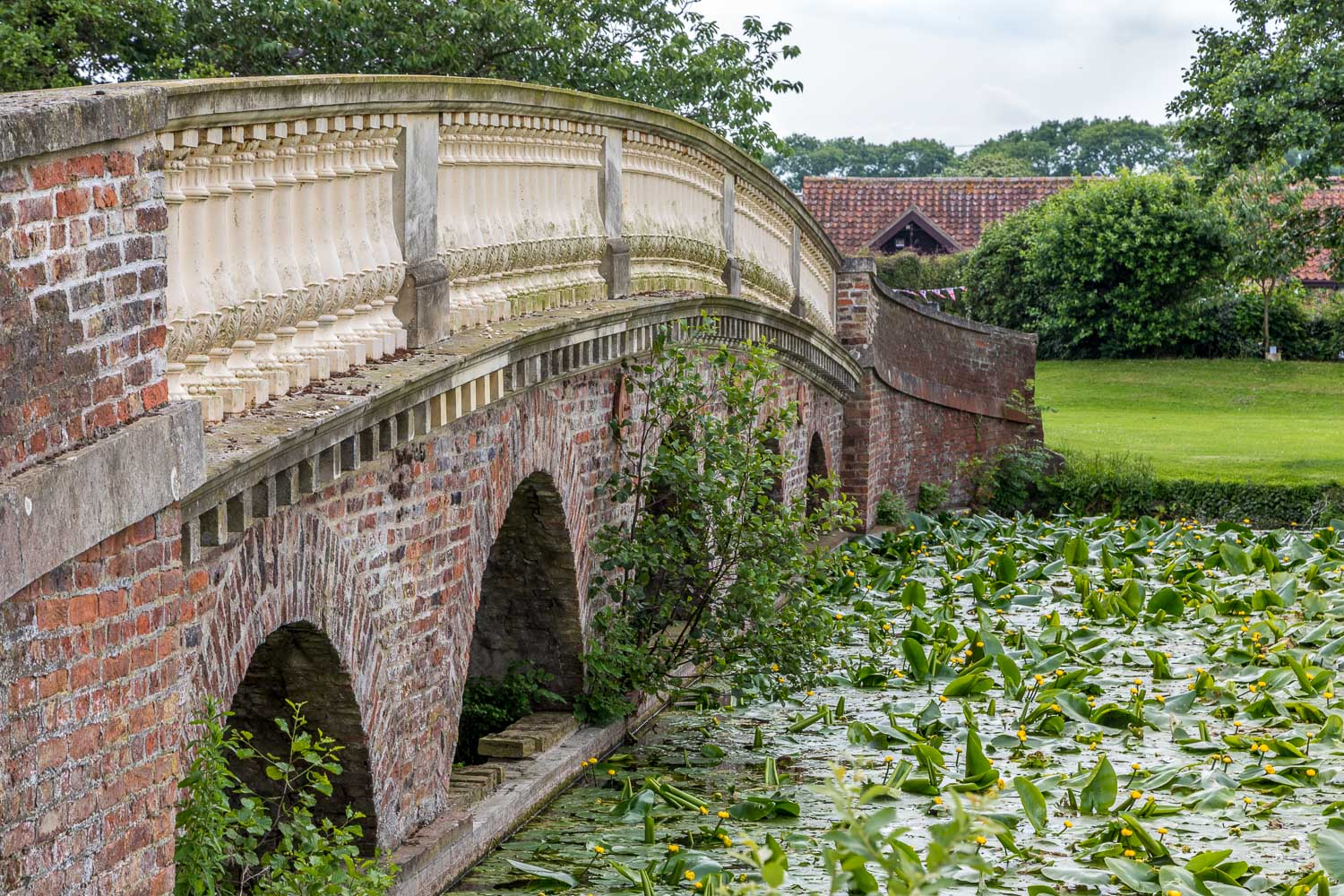 Burton Constable walk, Capability Brown's Bridge