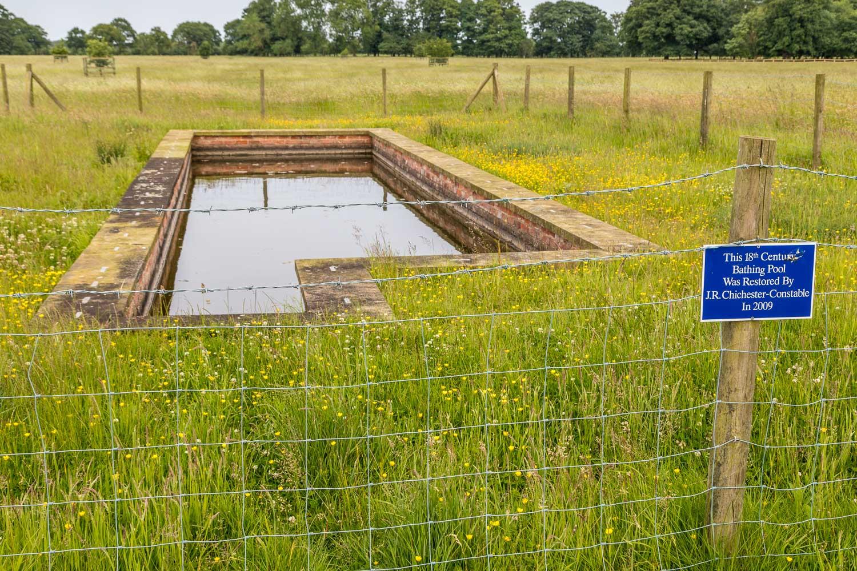 Burton Constable walk, Victorian Bathing Pool