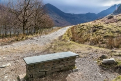 Buttermere bench