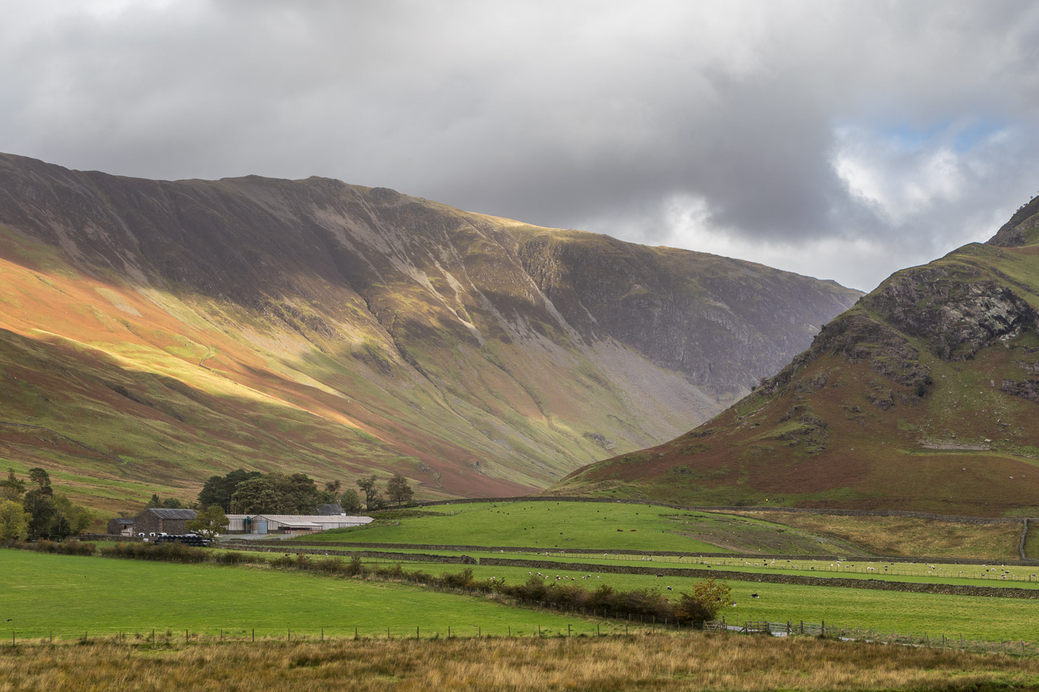 Gatesgarth and the Honister Pass