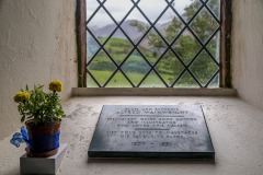 St James' Church Buttermere, Wainwright memorial tablet