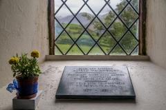 St James' Church Buttermere, Wainwright memorial tablet