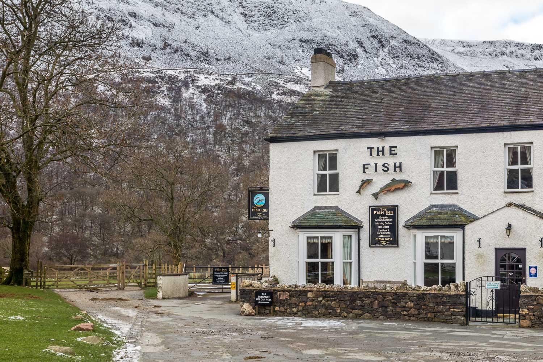 Buttermere village, Fish Inn