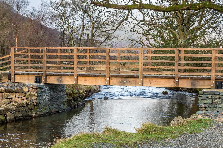 Buttermere Dubs footbridge