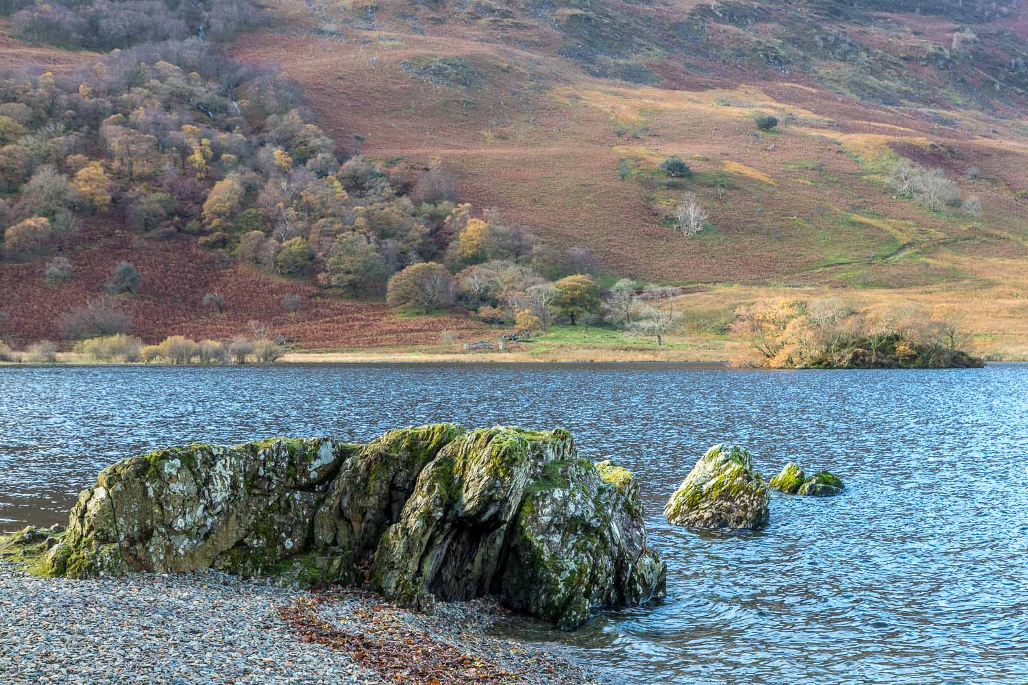 Crummock Water, Holme Islands
