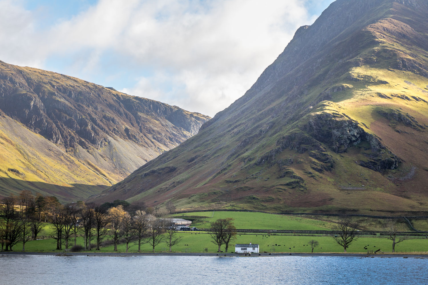 Buttermere, Fleetwith Pike, bothy, White Hut