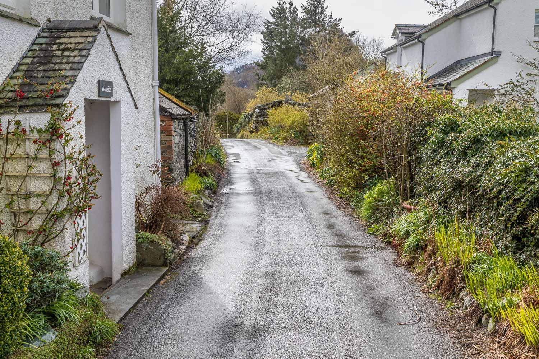 Castle Crag walk, Grange