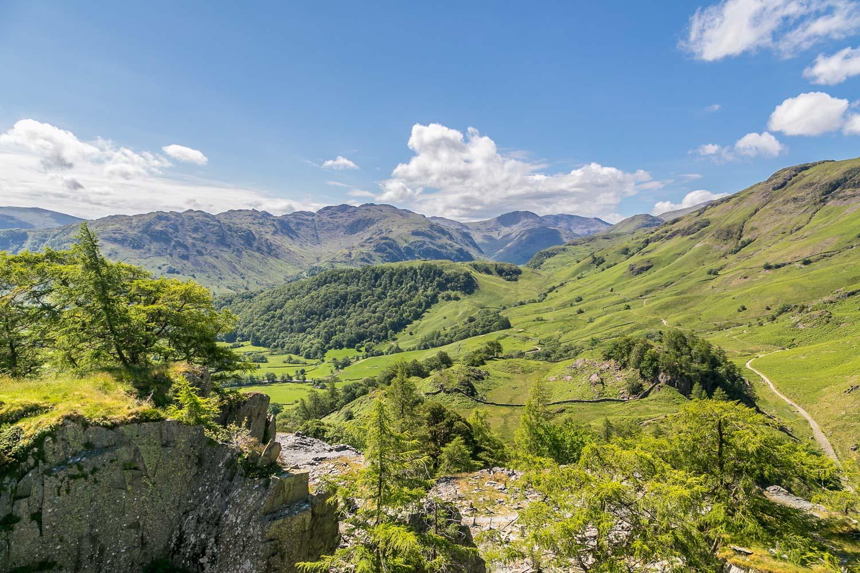 Castle Crag view