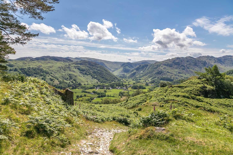 Castle Crag walk, Borrowdale, Rosthwaite