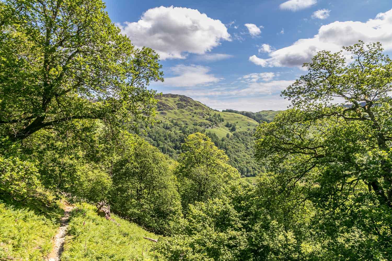 Castle Crag walk, Borrowdale