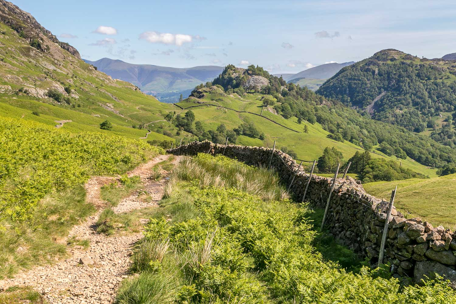 Castle Crag, King's How, Jaws of Borrowdale