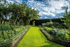 Castle Howard vegetable garden