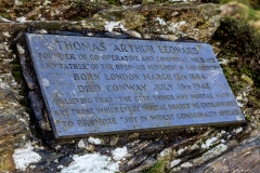 Catbells, memorial to Thomas Arthur Leonard