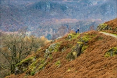 Catbells walk, Hugh Walpole seat