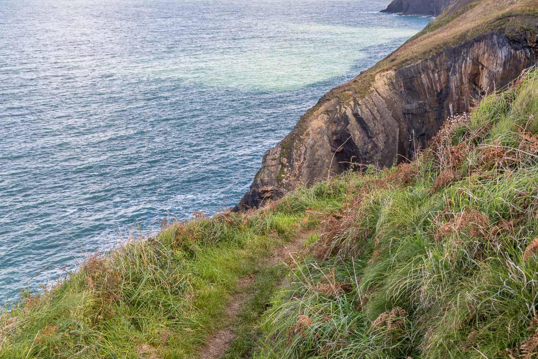 Ceibwr Bay, Wales Coast Path