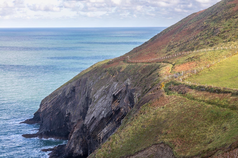 Ceibwr Bay walk