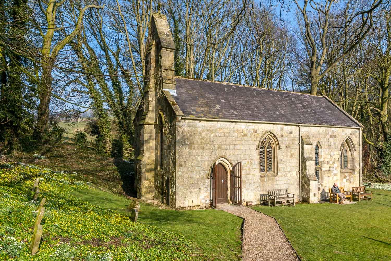 Chalkland Way, St Ethelburga's Church