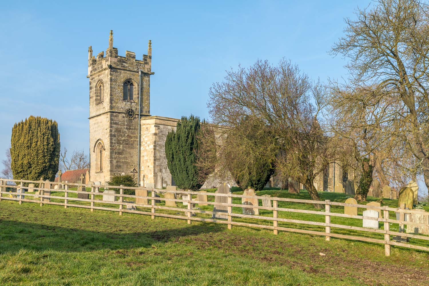 Chalkland Way, St Andrew's Church Bugthorpe