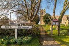 Chalkland Way, St Andrew's Church Bugthorpe
