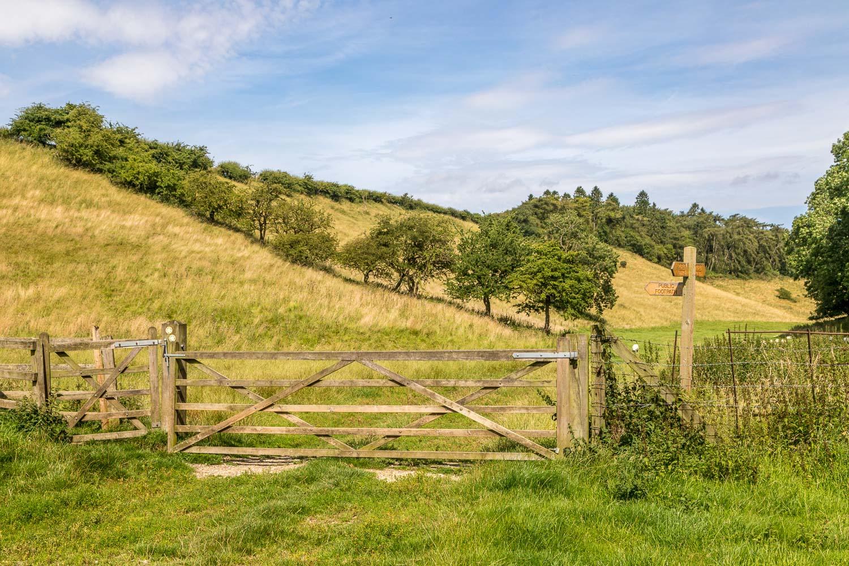 Chalkland Way, Wetwang walk, Huggate walk, Cow Dale