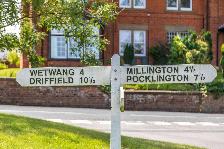 Chalkland Way, Wetwang walk, Huggate walk