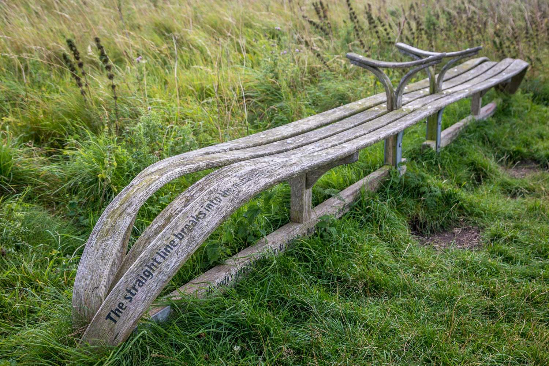 Chalkland Way, Poetry bench Millington