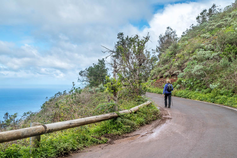 Chinamada walk, Tenerife