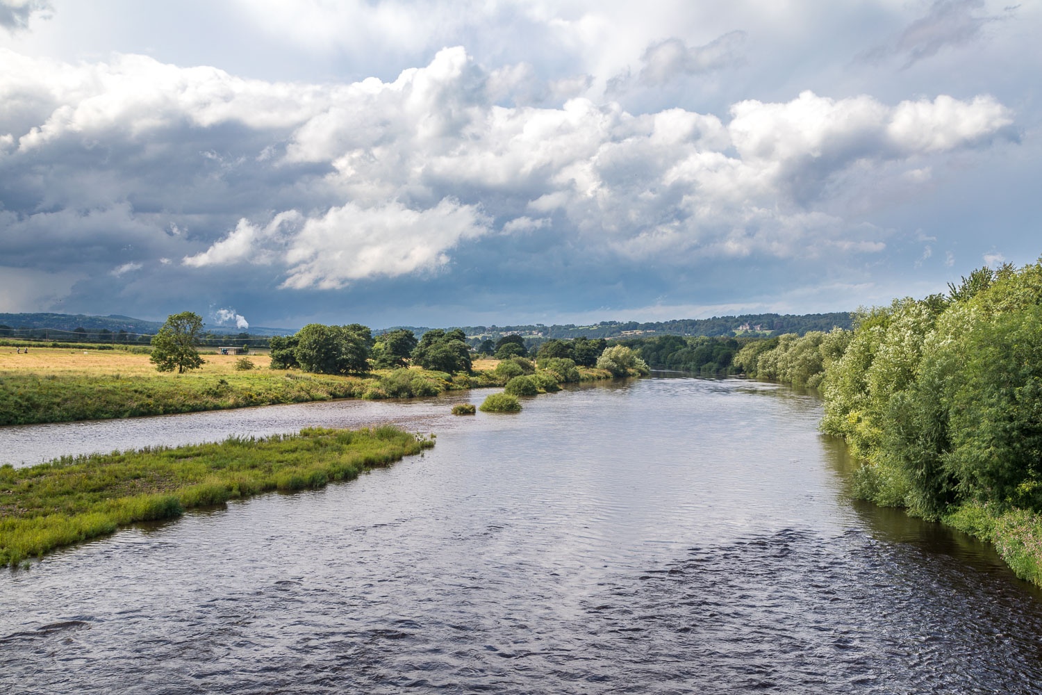 Corbridge walk, Corbridge Bridge, River Tyne