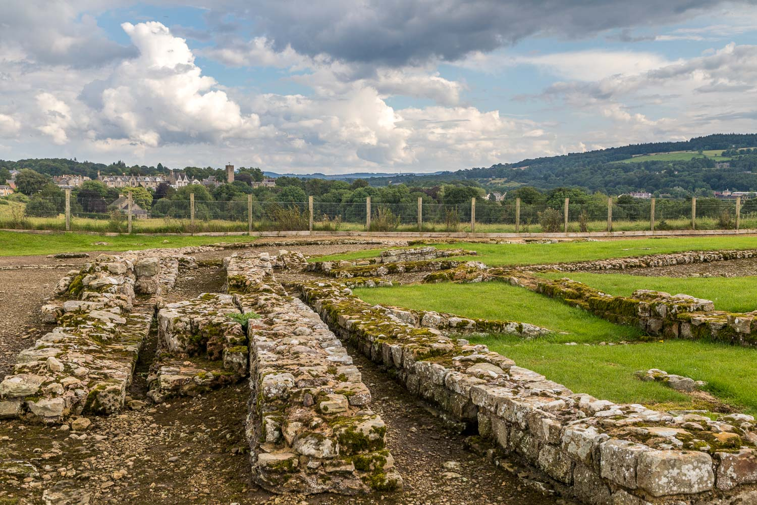 Corbridge walk, Corbridge Roman town