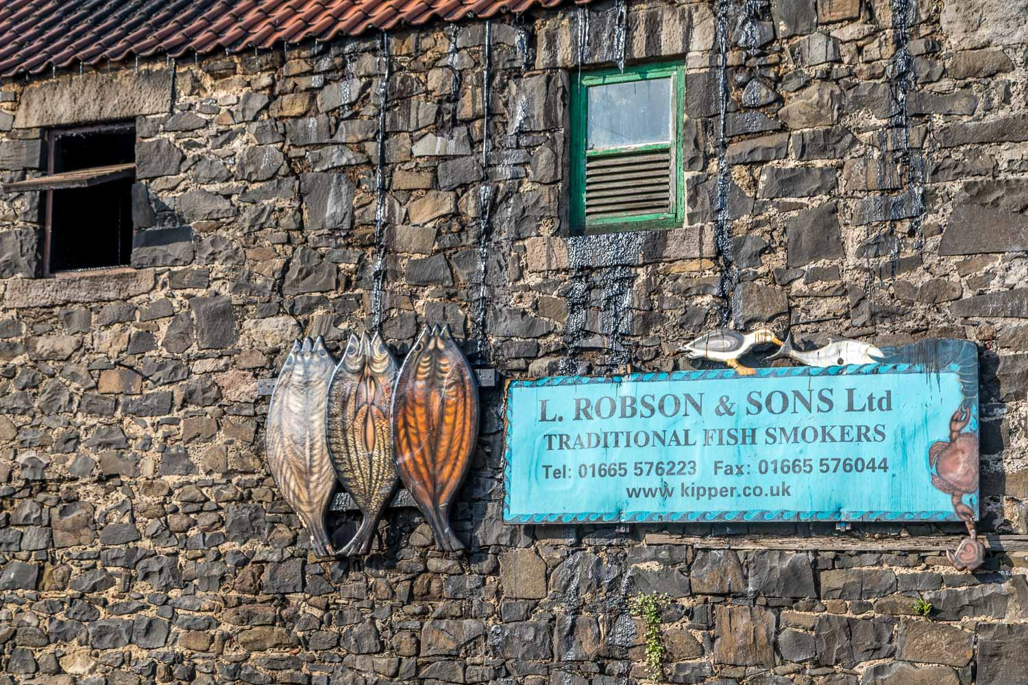 L Robson & Sons Ltd, producers of the legendary Craster Kippers