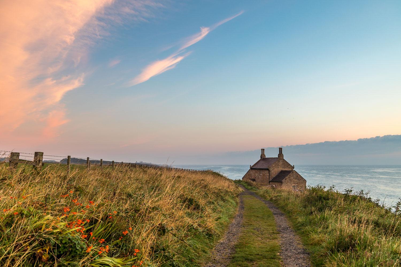 Dawn, The Bathing House Northumberland