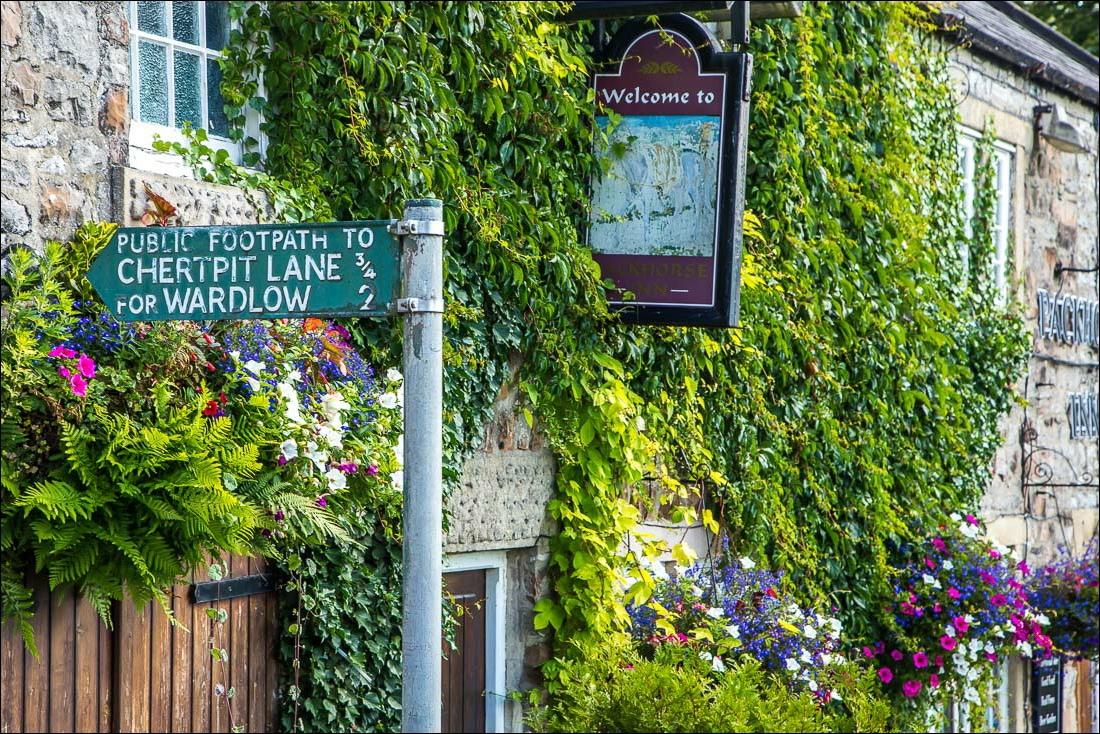 Cressbrook walk,  Packhorse Inn