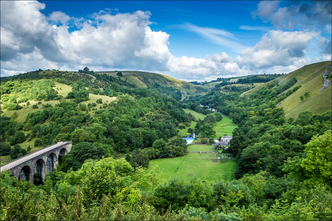 Cressbrook walk, Monsal Head