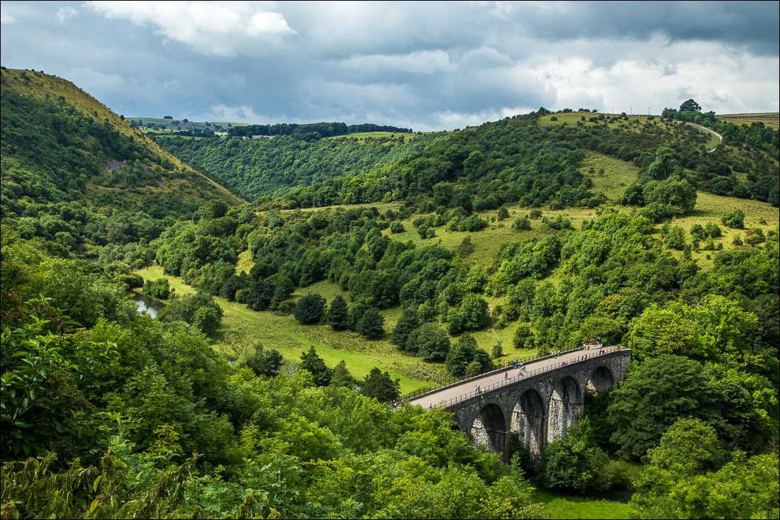 Cressbrook Dale walk, Monsal Head