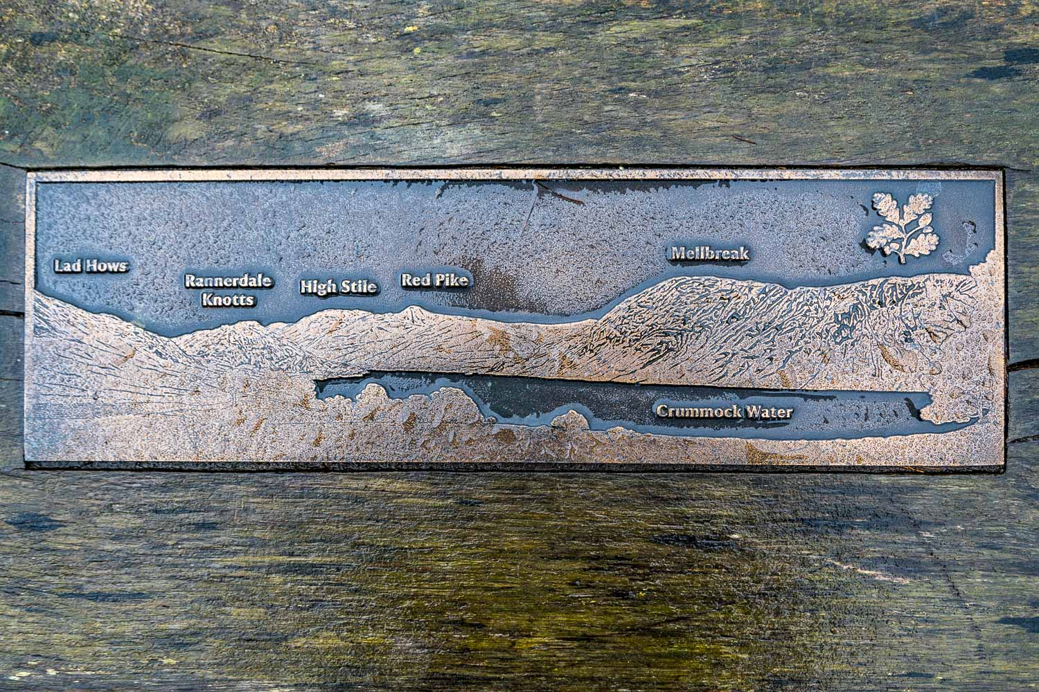 Crummock Water bench