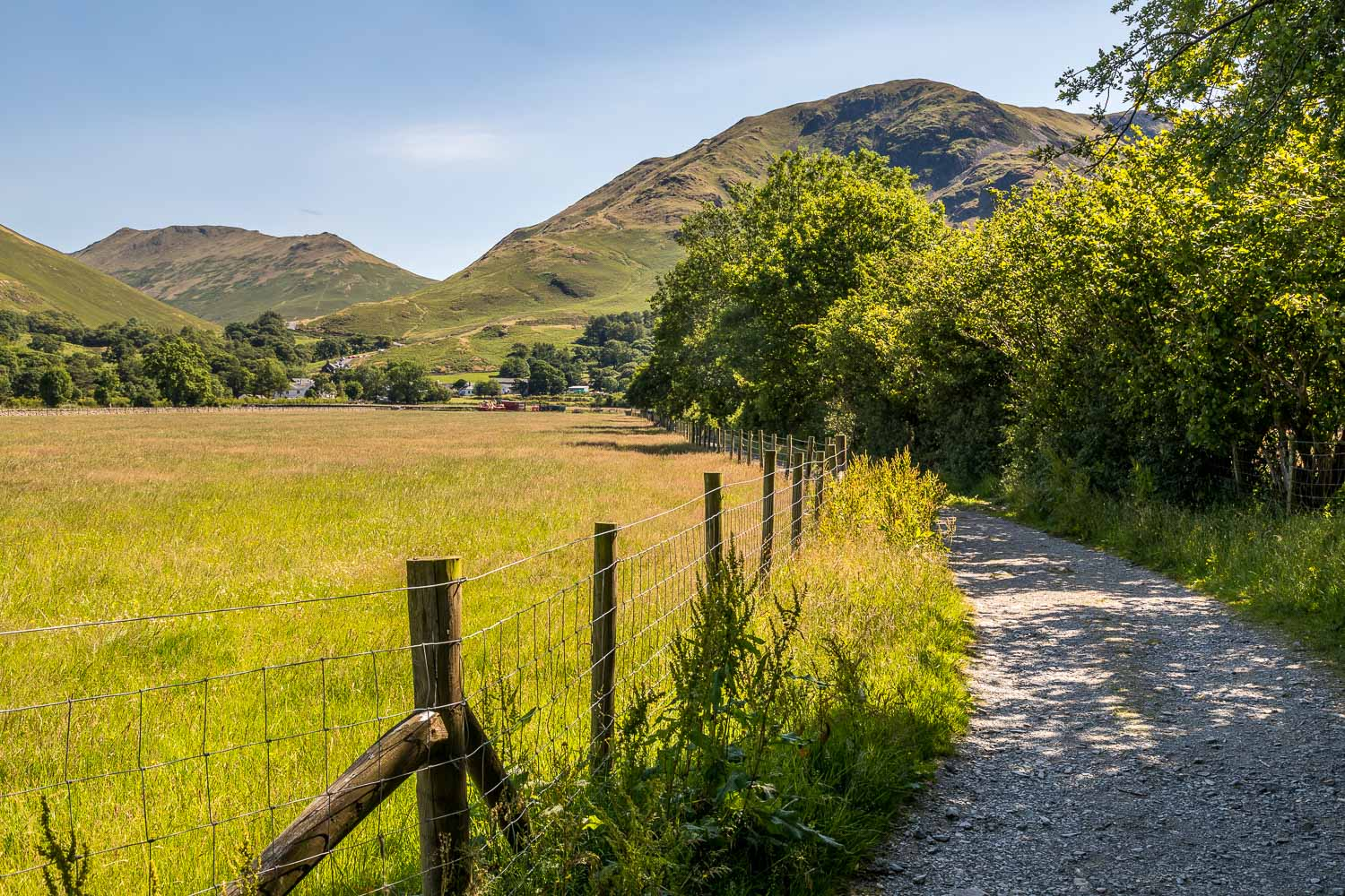 path to Buttermere village