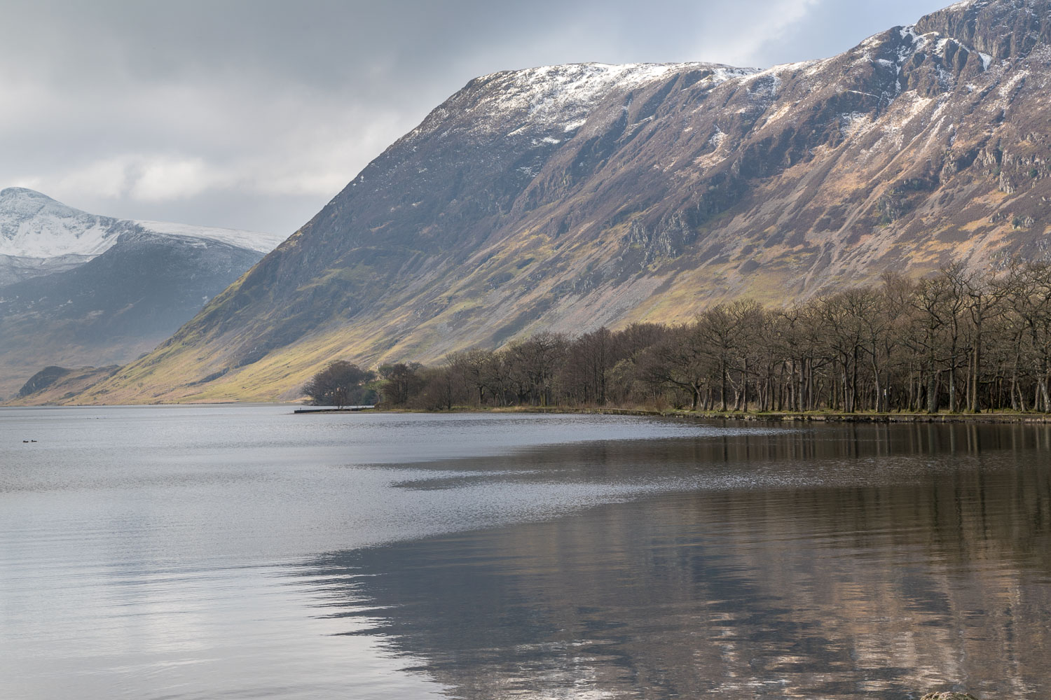 Crummock Water, Mellbreak