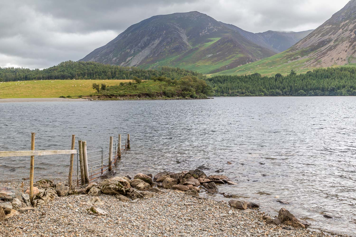 Whiteside from Crummock Water