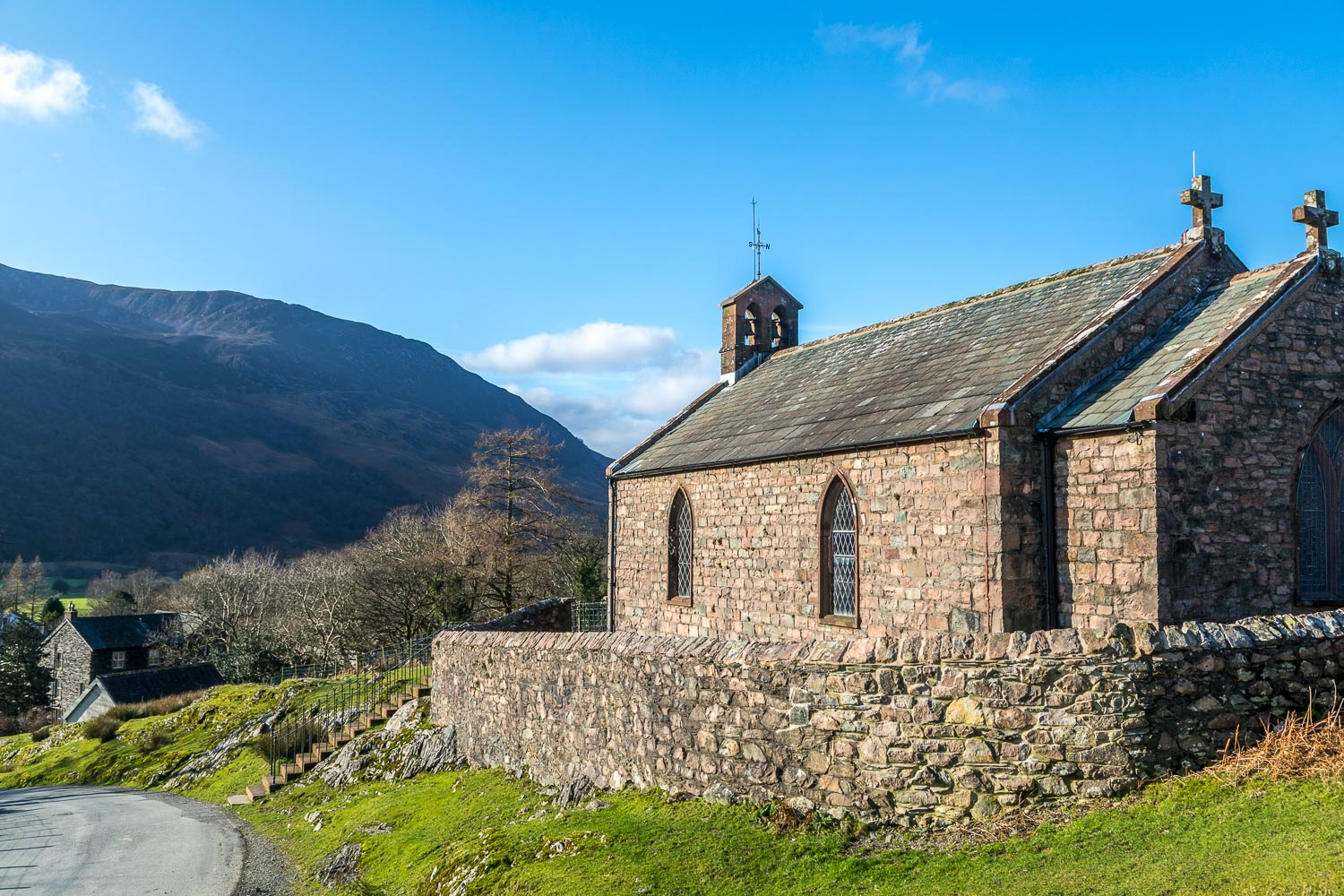 St James Church, Buttermere, Haystacks, Wainwright