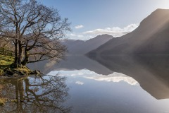Buttermere, Haystacks, reflections