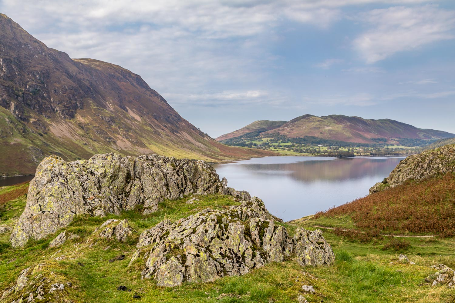 Buttermere Hause, Low Fell