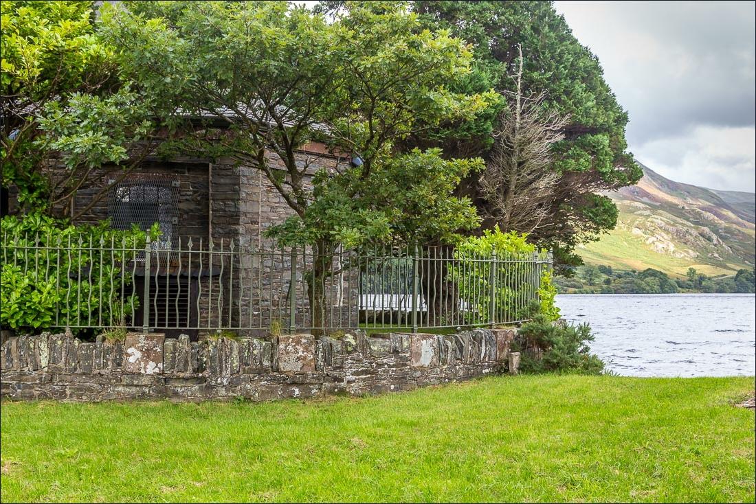 Crummock Water walk, pump house
