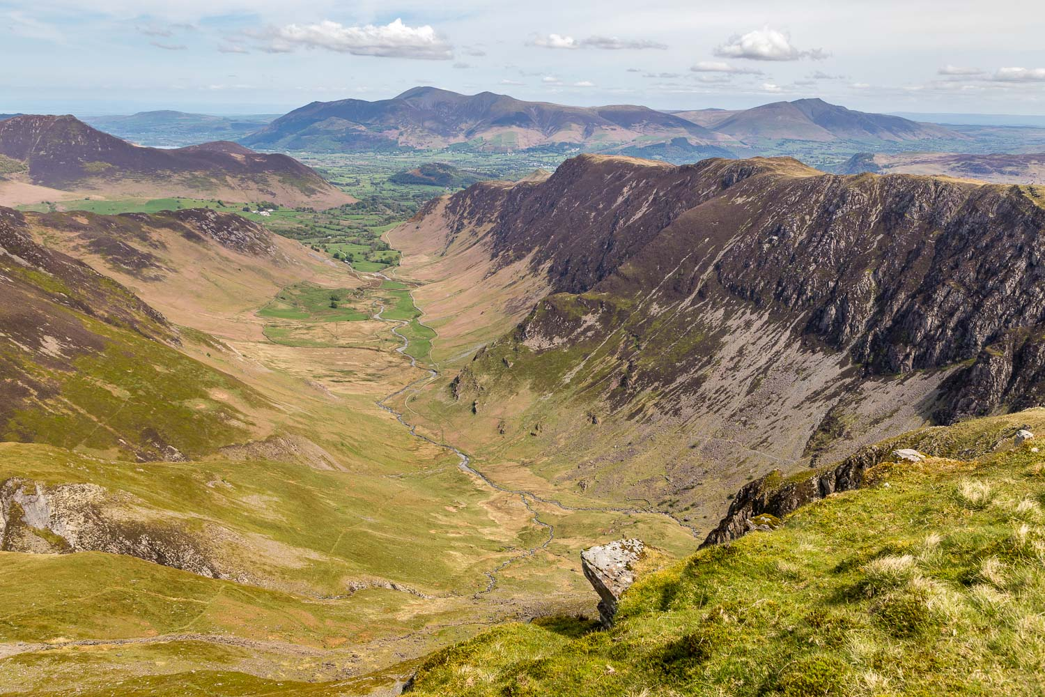 Newlands Valley from Dale Head