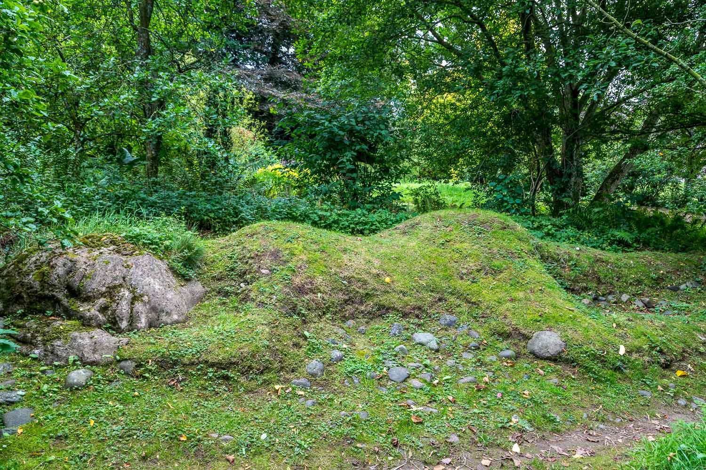 Dalemain garden sculpture