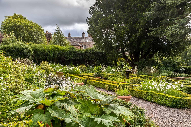 Dalemain knot garden