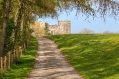 Dalemain to Dacre walk, Dacre Castle